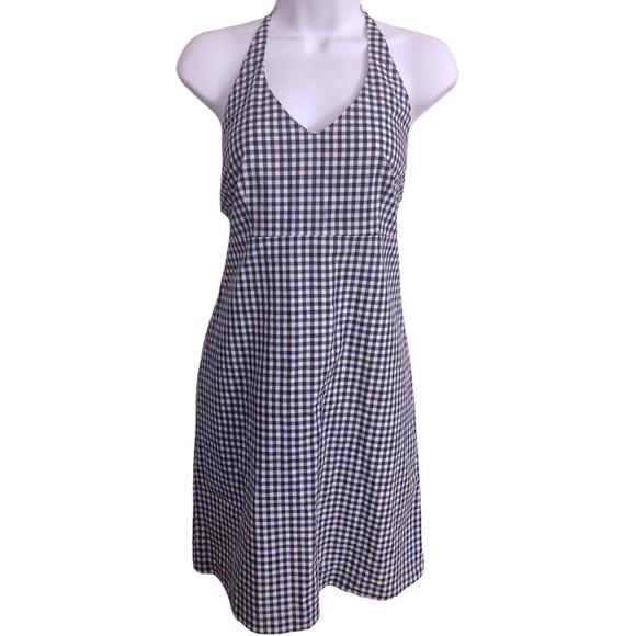 J. McLaughlin Halter Dress Cotton Blend Size 8